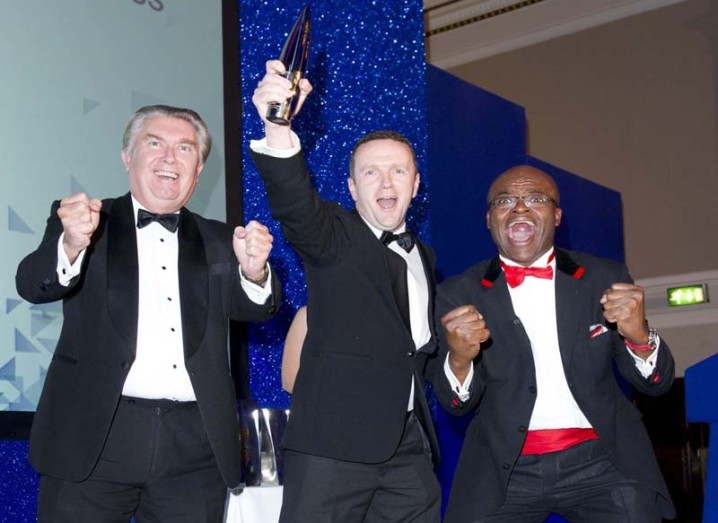 2012 MBA Entrepreneurial Venture Award from the Association of MBAs (AMBA) in London