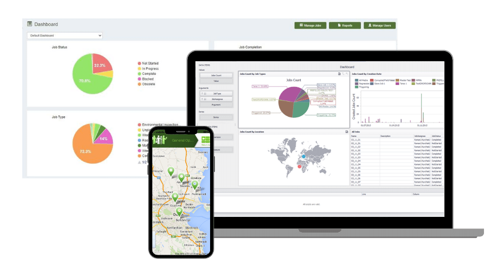 local authorities reports and dashboards